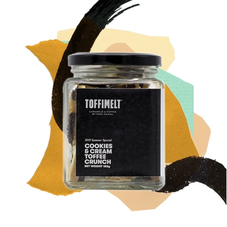 Cookies & Cream Toffee Crunch Jar