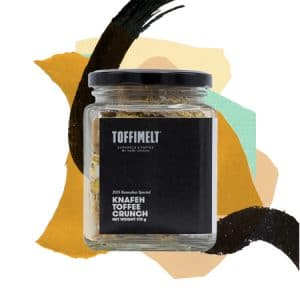 Knafeh Toffee Crunch Jar