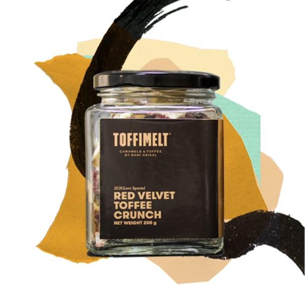 Red Velvet Toffee Crunch
